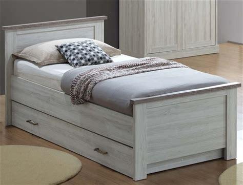 chambre a coucher 2 personnes lit 1 personne lit 90cm avec tiroir chetre kreabel
