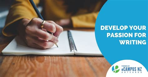 Develop your passion for writing - eCampus NZ