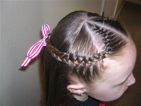 french braid heart hairstyle hairstyles  girls