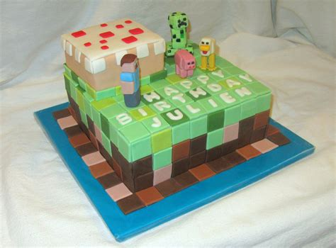 how to decorate a minecraft cake minecraft cakecentral