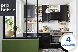 Placard Cuisine Haut : meuble de cuisine castorama ~ Teatrodelosmanantiales.com Idées de Décoration