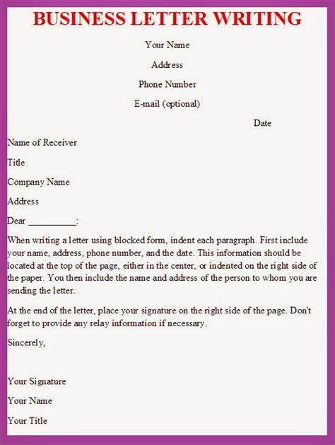 business letter effective business letter