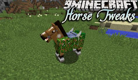 horse mod tweaks upgrades horses 9minecraft saddle features water swim swimming