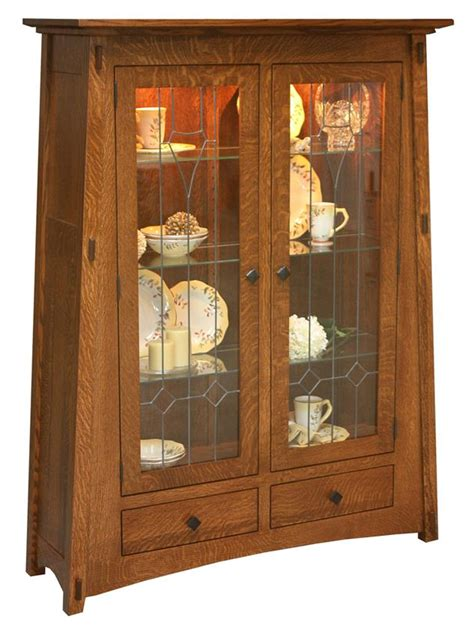 kitchen curio cabinets mccoy curio cabinet from dutchcrafters amish furniture 1053