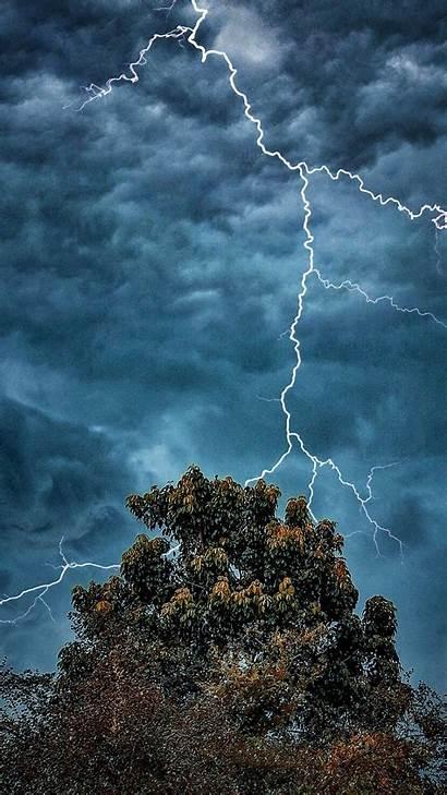 Clouds Lightning Dark Extreme Weather 4k Ultra