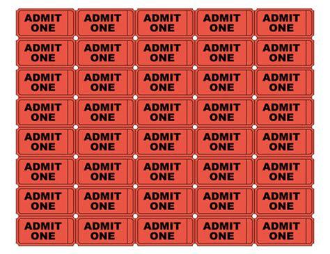 blank  ticket   blank  ticket
