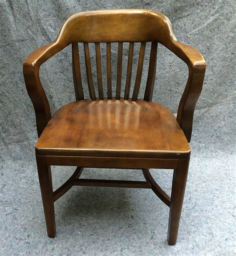 vintage bankers desk chair vintage bankers chair library chair boling chair