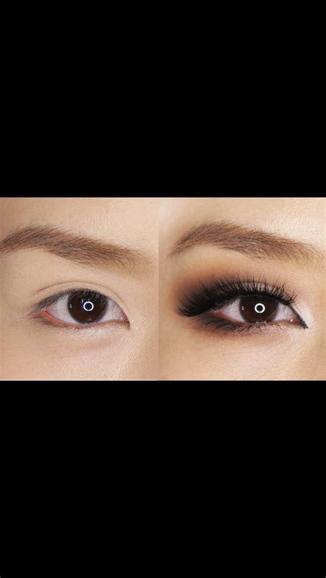 droopy asian eyes makeup saubhaya makeup
