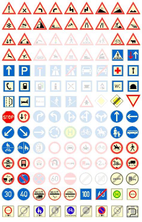verkehrszeichen  deutschland verkehrszeichen der