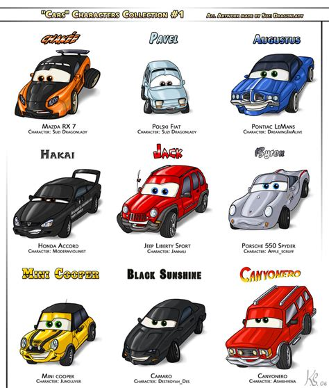 cars characters cars 2 characters names car interior design