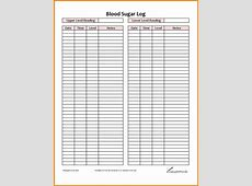 Diabetes Log Template Images Template Design Ideas