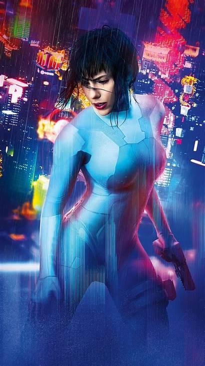 Ghost Shell Phone Scarlett Johansson Movies Io