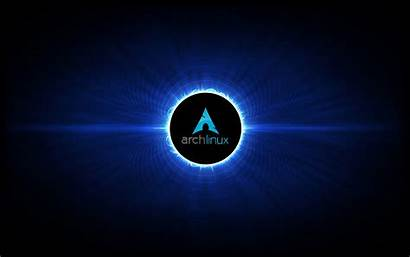 Linux Arch Wallpapers Eclipse Solar Universe Background
