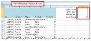 Formule Si Excel : excel d nombrement et somme conditionnelle ~ Medecine-chirurgie-esthetiques.com Avis de Voitures