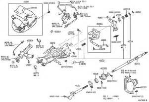 Toyota Avalon Steering Column Trim Fawn Tan