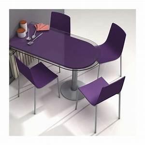 Chaise Cuisine Design : chaise de cuisine design en m tal et bois hot 4 pieds tables chaises et tabourets ~ Teatrodelosmanantiales.com Idées de Décoration