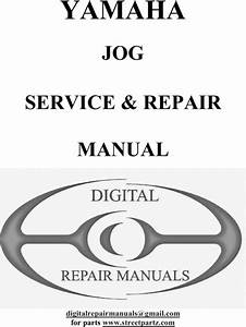Yamaha Jog Service  U0026 Repair Manual
