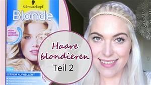 Haare Blau Färben Ohne Blondieren : haare blondieren ohne gelbstich follow me around teil 2 youtube ~ Frokenaadalensverden.com Haus und Dekorationen