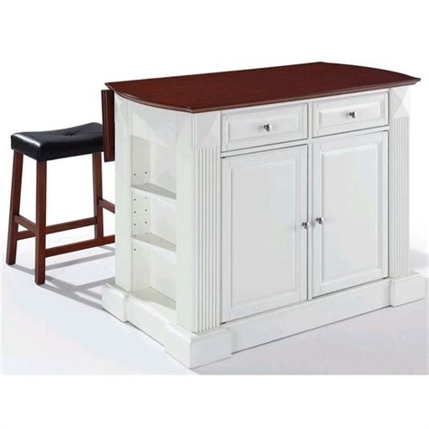 crosley furniture coventry drop leaf kitchen island