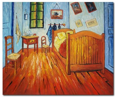 Bedroom Paintings by The Bedroom At Arles Gogh Paintings