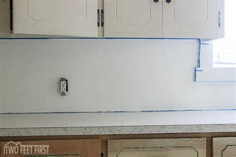 subway tile kitchen backsplash diy diy cheap kitchen backsplash 8403