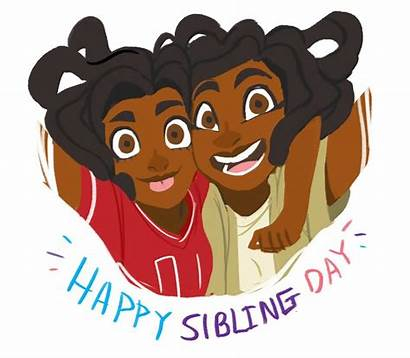 Siblings Clipart Sisters Sibling Happy Cliparts Clip