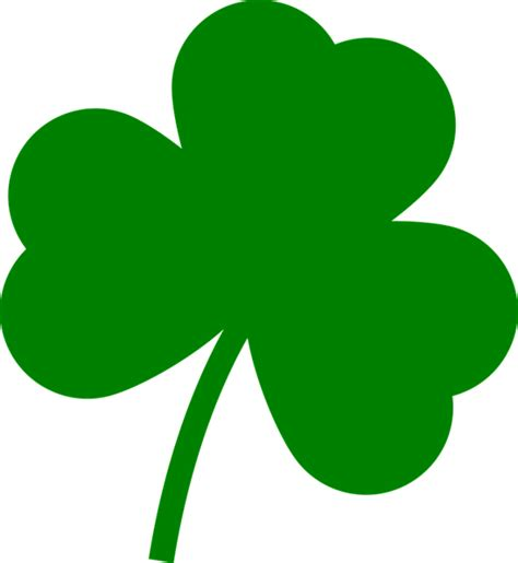Clover Clip Free Vector Graphic St S Day Clover
