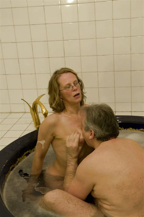 glasses wearing mature amateur giving and receiving oral