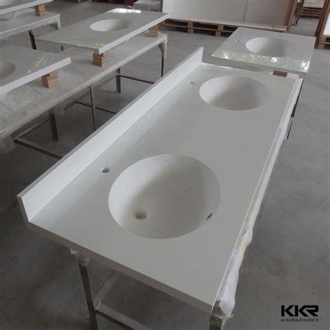 custom bathroom vanity tops with sinks custom made solid surface double sink bathroom vanity top