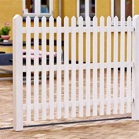 Sprühlack Weiß Für Holz by Gartenzaun Holz Skagen Wei 223 120cm