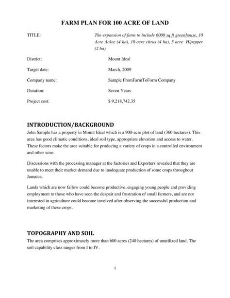 Here is a sample business plan for starting a goat farm and a free feasibility study you. Agriculture Business Plan Pdf - Goat farming business plan pdf / Coordination 8 department of ...