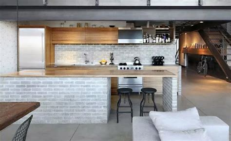 kitchen with bar design industrial style kitchen bar design 6492