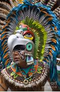 Aztec Eagle Dancer - Mexico is a photograph by Craig Lovell which was      Aztec Eagle Warrior Drawing