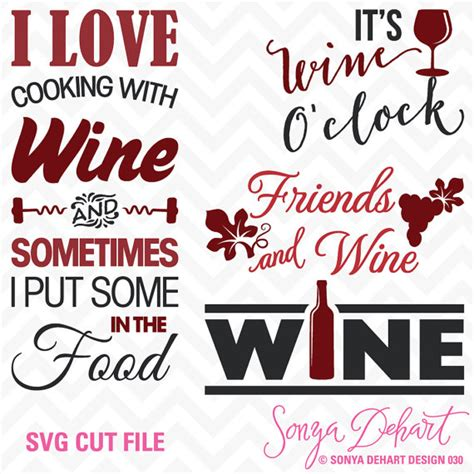 wine glass sayings svg 80 off sale svg cuttables wine quotes cut files set its wine