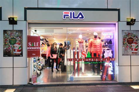 fila shop  hong kong editorial photography image