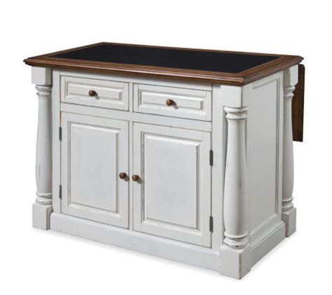 Home Styles Monarch Kitchen Island with GraniteTop