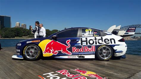 bull unwrap new holden zb commodore supercars livery motorsport driven