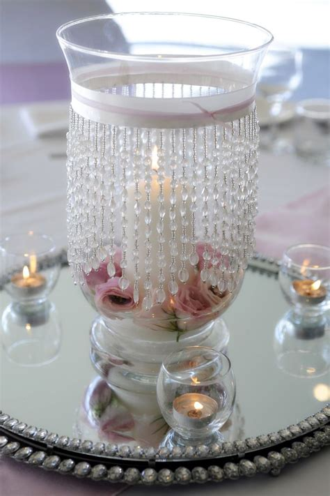 vase centerpiece ideas hurricane vase wedding centerpieces glass
