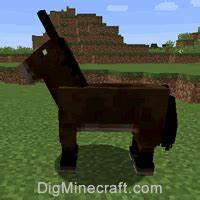 Minecraft Horse Chart How To Feed A Mule In Minecraft