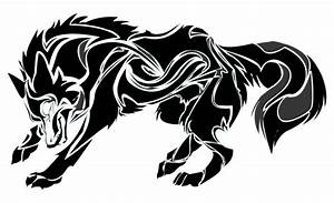 Tribal Wolf Clipart (50+)
