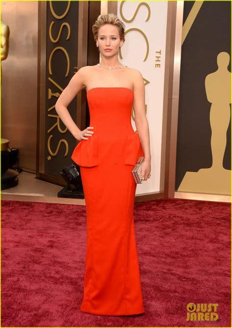 Jennifer Lawrence Oscars 2014 Red Carpet Photo 3063855