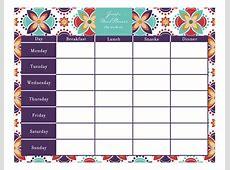 Kalender planer 2019 2018 Calendar Printable with
