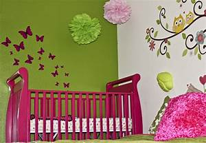 Fascinating modern pink nursery room interior design ideas for Color scheme ideas for baby girl room