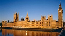 Houses of Parliament, English Parliament Building with ...