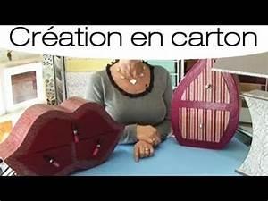 Comment Faire Une Boite En Origami : comment faire une boite en carton youtube ~ Dallasstarsshop.com Idées de Décoration