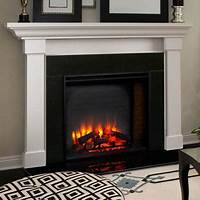 built in electric fireplace Hearth & Home 36-In Built-In Electric Fireplace - SF-BI36-EB