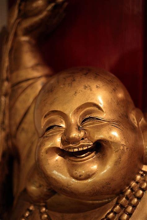 happy buddha images  pinterest buddhism