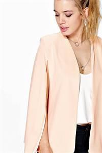 Petit 4x4 Pour Femme : boohoo petite jenna blazer effet cape fendu devant pour femme ebay ~ Gottalentnigeria.com Avis de Voitures