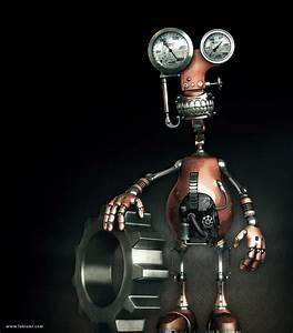 Robot By Fabioragonha On Deviantart