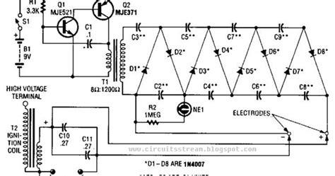 Circuit Wiring Solution Part High Voltage Supply